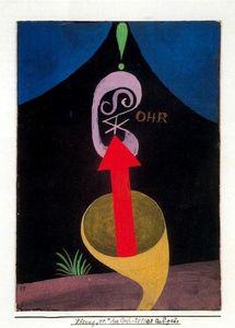 Lámina de la carpeta para el 41 cumpleaños de Walter Gropius 1924