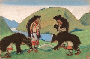 Elders in Bearskins