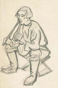 Variant of flute-player