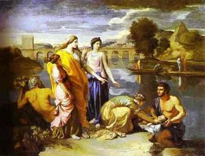 Pharaoh's Daughter Finds Baby Moses
