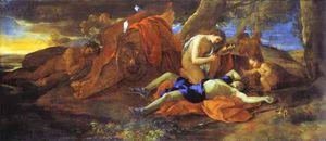 Venus Lamenting over Adonis