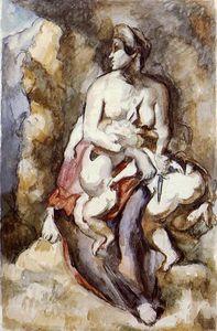 Medea (after Delacroix)