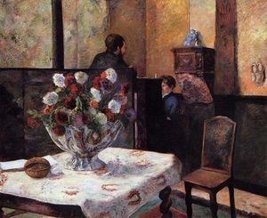 Interior of the Painter's House, rue Carcel