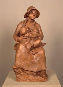 Maternity. Madame Renoir and Son