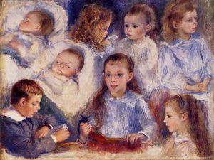 Studies of the Children of Paul Berard