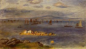 The Coast of Brittany, Fishing Boats
