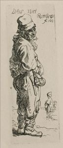 A Beggar. and a Companion Piece, Turned to the Right