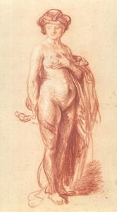 A Nude Woman with a Snake