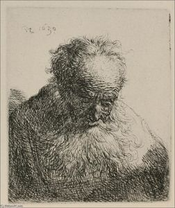 An Old Man with a Large Beard