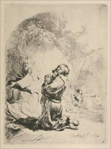St. Gerome Kneeling