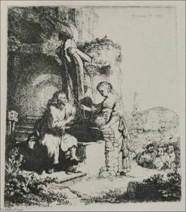 The Smaritan Woman - at the Ruins