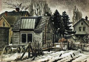 Blackbirds In The Snow