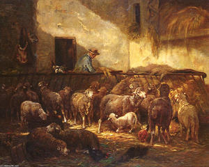 стадо овец в Сарай