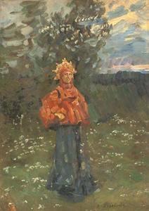 A Russian maiden