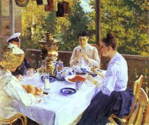 At a Tea Table