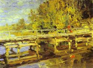 Autumn. On Bridge