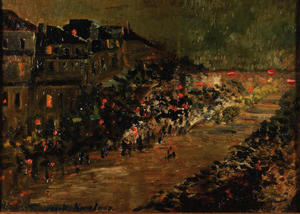 Paris by Night - Boulevard des Italiens