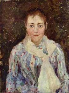 Portrait of the Artist V. V. Wulf