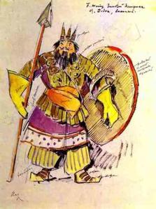 Tsar Dodon en Suite militaire