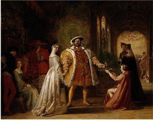 Henry Viii's First Interview With Anne Boleyn