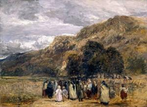 A Welsh Funeral, Betwys-Y-Coed