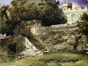 Haddon Hall, The River Steps
