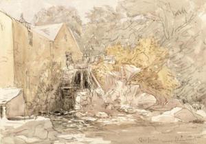 Mill At Trefriw, Near Llanrwst