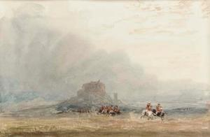 Soldiers Below Stirling Castle