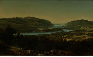 View From Garrison, West Point, New York