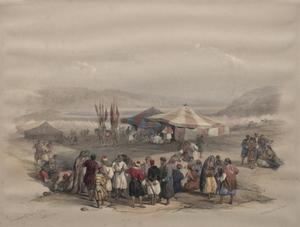 Encampment Of Pilgrims, Jericho