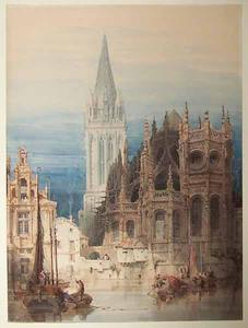 St Pierre, Caen. Exterior