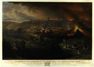 The Destruction Of Jerusalem By The Romans, Under The Command Of Titus