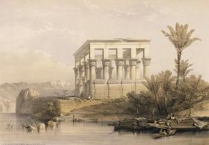 The Hypaethral Temple At Philae, Called The Bed Of Pharaoh