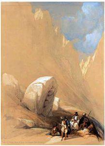 The Rock Of Moses, Wady-El-Leja, Mount Horeb