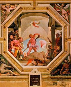 The beheading of Spurius Cassius