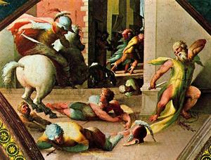 The suicide of Cato Utica