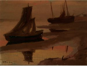 Sails At Dusk