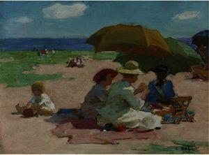 At the Beach 4