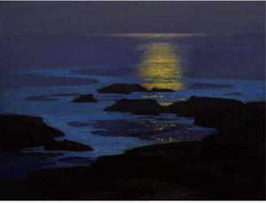 Moonlight, The Coast Of Maine