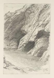 Cliffs At Tintagel