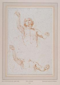 Two Figure Studies Of A Man