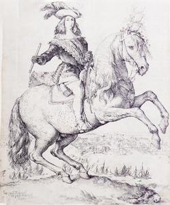 Equestrian Portrait of Don John of Austria Juan José de Austria