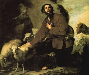 Jacob and the flock