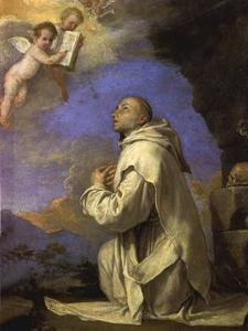 St. Bruno receives the Rule
