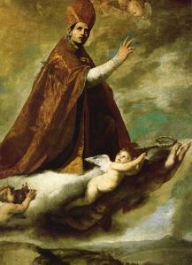 St. Januarius in glory