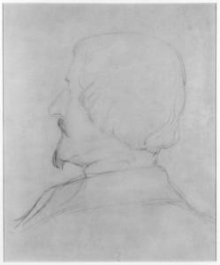 Portrait Sketch of Eastman Johnson