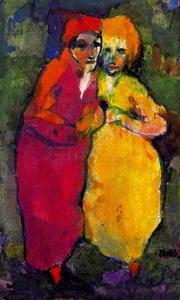 Couple (Red and Yellow)