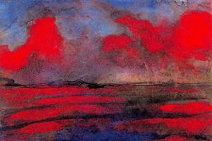 Landscape in Red Light
