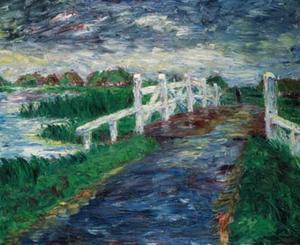 Marsh bridge