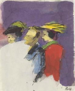 Three spectators